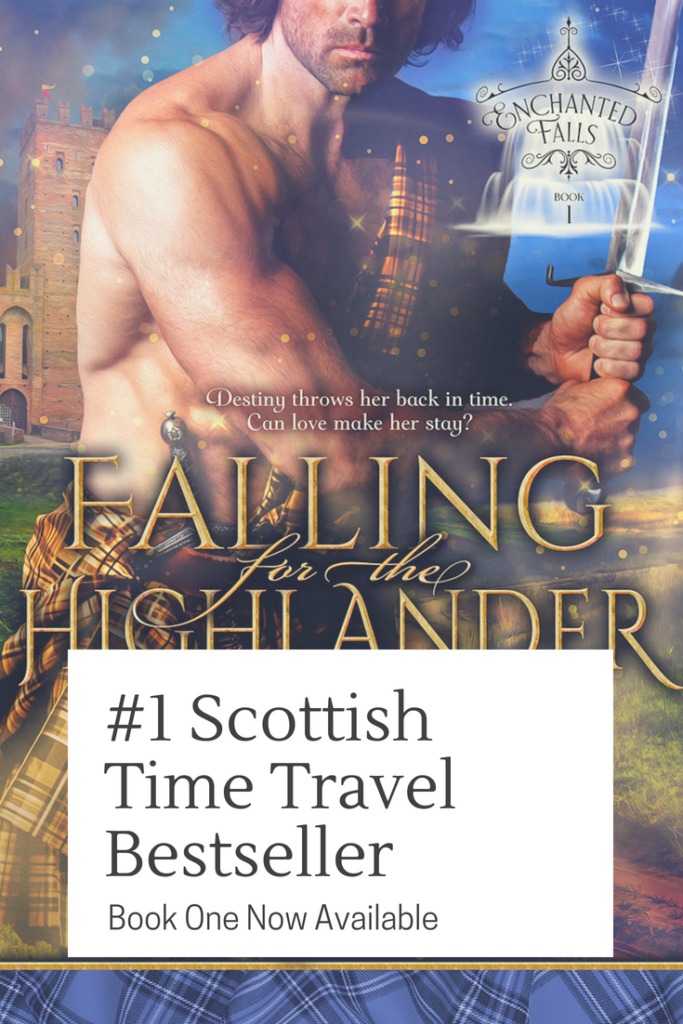 Love Outlander? Try a brand new Scottish time travel romance